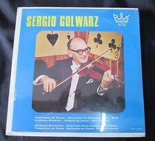 SERGIO GOLWARZ SELF TITLED 'NOSTALGIAS DE VIENA' MEXICAN LP CLASSICAL