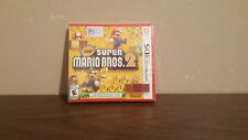 New Super Mario Bros. 2 (Nintendo 3DS, 2012) NEW SEALED