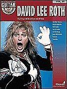 DAVID LEE ROTH GUITAR PLAY ALONG TAB SONG BOOK W/CD