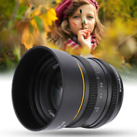 Kamlan 50mm F1.1 Manuelle Fokuslinse Objektiv für M4/3 Spiegellose Cameras
