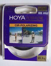 #) filtre polarisation circulaire HOYA 49.0s WIDE ANGLE