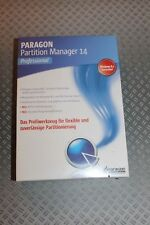 Paragon Technologie Partition Manager 14 Professional 1 PC Vollversion MiniBox