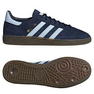 adidas ORIGINALS HANDBALL SPEZIAL TRAINERS NAVY BLUE GUM SNEAKERS SHOES FOOTBALL