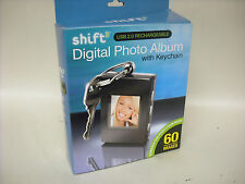 New SHIFT Keychain size Digital Photo album holds 60 images model 1619335
