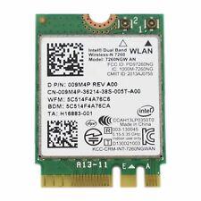 Dell KTTYN Intel Dual Band Wireless-AC 7260NGW WLAN Bluetooth 4.0 WiFi Mini Card