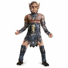 Youth Boy / Girl WARCRAFT Costume - Durotan (Muscle Torso) Sz L (Age 10-12) NEW