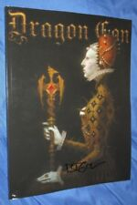 DRAGON CON 2018 Signed Program Book/Booklet by BROM (Fantasy Art/AD&D/TSR)