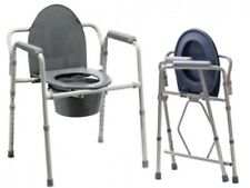 Toilettenstuhl Nachtstuhl WC - Stuhl Stahl Faltbar stuhl Ar-101 Armedical