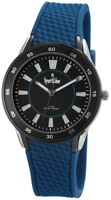 Sport Line Damenuhr Schwarz Blau Analog Metall Silikon Armbanduhr X220821000001