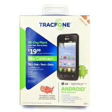 "Tracfone LG Optimus Fuel 3G 3.5"" Screen 4 GB Micro SD GPS Bluetooth New Sealed"