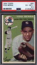 1954 Topps #50 Yogi Berra Yankees PSA 6.5 *684538