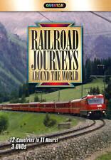 Railroad Journeys Around The World 12 Countries Austria, France, USA etc NEW DVD