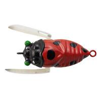 TIEMCO T. Trout Cicada 2TTC-B-096Ladybird Bass fishing lure from Japan