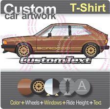 Custom T-shirt 78 1979 80 1981 VW Scirocco MKI mk1 S Storm SL Champagne Edition