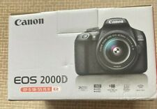 Canon EOS 2000D / Rebel T7 DSLR Camera with EF-S 18-55mm f/3.5-5.6 Lens .New