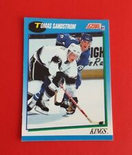 1991/92 Score Hockey Tomas Sandstrom Card #490***Los Angeles Kings***