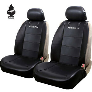 For NIssan Cars Truck SUV Front Sideless Seat Covers with Official Logo and Gift