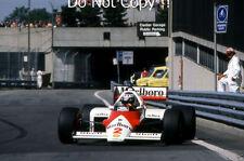 Stefan Johansson McLaren MP4/3 Detroit Grand Prix 1987 fotografía 2