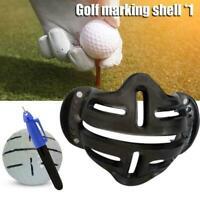 Golf Ball Stencil Template Drawing Putting Line Pen Marker