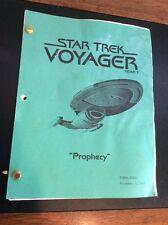 "Star Trek Year 7 Script ""Prophecy"""