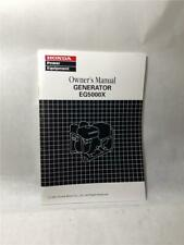 Honda Manual Generator EG5000X #00X31-ZC2-7630