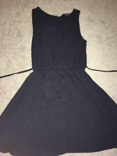 Ladies Atmosphere Skater Dress 10 Blue