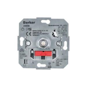 Berker 2909 Drehdimmer (R, LED)