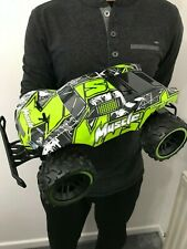 LARGE MONSTER TRUCK 2.4GHz RC REMOTE CONTROL CAR 20KM/H SPEED GREEN 1/12 BOXED