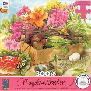 Marjolien Bastin Ceaco Jigsaw Puzzle 300Pc Summer Flowers NIB