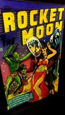 Rocket to the Moon Comics in 3-D large 11x17