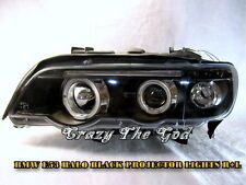 E53 00-03 X5 Halo LED Pro HEADLIGHT Black for BMW