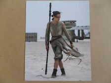 "Daisy Ridley Signed ~Autographed Photo ""Episode"""
