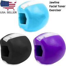 1/3x Jawline Exerciser Facial Toner Trainer Fitness Ball Neck Face Toning Jaw US