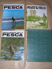Pieroni, Enciclopedia della Pesca Mare + Acque Interne + Atlante, 1° e. 1967