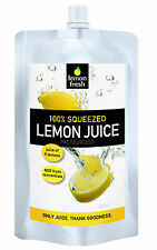 LEMON FRESH 100% LEMON JUICE, SINGLE PACKET PERFECT FOR DRINKING EATING