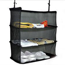 Travel Shelves To Go Packable Shelves, Hang in Closet or On Door, then Pack! LRG