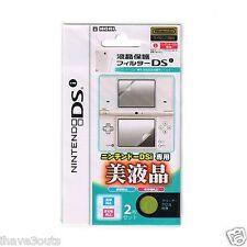 Quality Nintendo DSi Screen Protector With Cleaning Cloth Console Screenguard