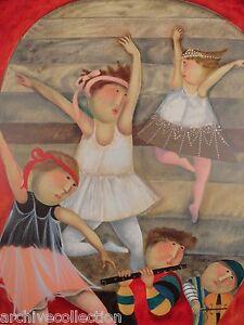 "Graciela Rodo Boulanger ""Andante"" Original Lithograph from the ""Mouvements""Suite"