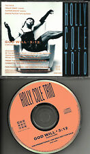 HOLLY COLE God Will LYLE LOVETT remake Cover trk PROMO DJ CD single 1992 USA