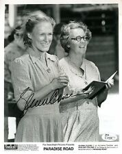 GLENN CLOSE PARADISE ROAD JSA CERTED SIGNED 8X10 PHOTO AUTHENTIC AUTOGRAPH
