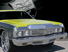 1973 Chevy Impala Chevy Caprice chrome mesh grille grill headlight bezel 5 piece