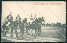 Roma Militari Corazzieri Gendarmi Imperatore Germania cartolina XF6273