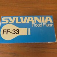 Sylvania Vintage Lamp Bulb FF-33 Sequence Flood Flash Long-Duration New