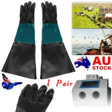 1Pair Cabinet Sandblast Glove Sandblaster Sandblasting Gloves for SandBlasting