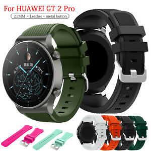 For Huawei Watch GT 2 Pro/GT 2 2e 46mm Strap Silicone Wristband Replace Bracelet