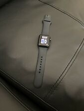 Apple Watch Series 3 GPS 38mm Space Gray with Black Sport Band Locked