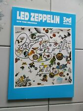 Led Zeppelin Iii Guitar Tab Bass Tab Rock Music Song Book New 3rd Album Drums