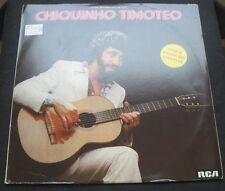 Chiquinho Timotéo - Guitare Brésilienne LP Rare Israel Pressing Bossanova MPB