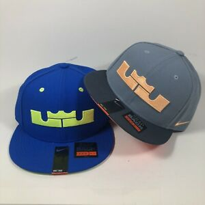 2014 Nike LeBron James True Snapback Hat Cap Lot Of 2 Brand New With Tags