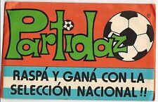 Argentina Sun Partido Soccer Trading Card Pack